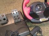 Игровой руль и педали Logiteh