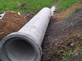 Труба бетонная на съезд, заезд, под дорогу