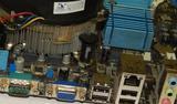 Материнская плата+ процессор s775 E7500 X2 2. 93Ghz