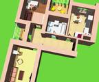2-комнатная квартира, 58. 6 кв.м., 4/15 этаж, новостройка